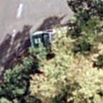German police car waiting in ambush (Google Maps)