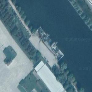 USS Pueblo (Google Maps)