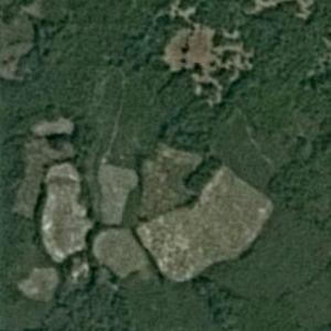 Attapeu dam collapse (7/23/18) (Google Maps)