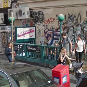 "50th Street Subway Stop (""Daredevil"") (StreetView)"
