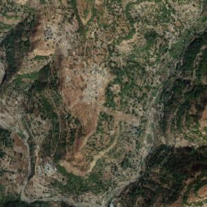 2014 Malin landslide (Google Maps)
