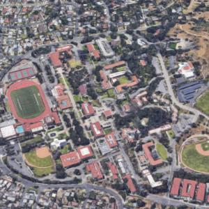 Occidental College (Google Maps)