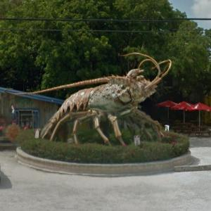 Betsy the giant Lobster (StreetView)
