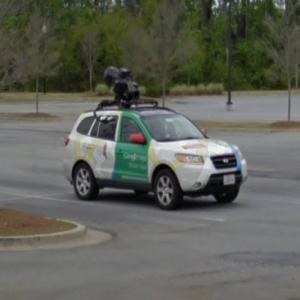 Google Maps car (StreetView)
