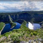 Uvac river gorge
