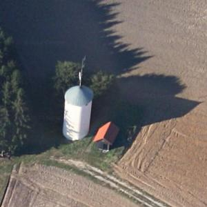 Aichach water tower (Google Maps)