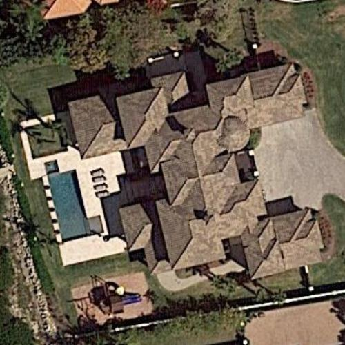 Howie Dorough house in Indian Harbour Beach, Florida, U.S.