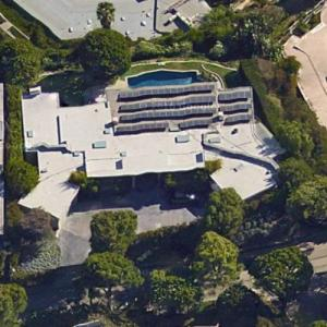 "Irving ""Swifty"" Lazar's House (Deceased) (Google Maps)"