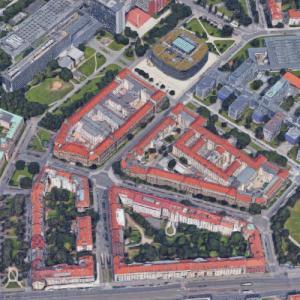 Czech Technical University in Prague (Google Maps)