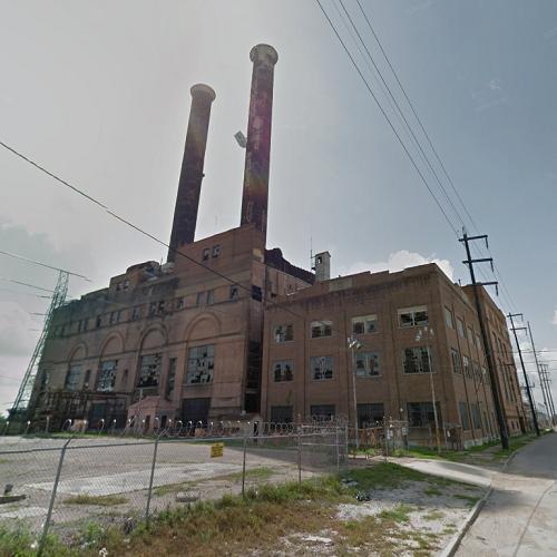 Market Street Power Plant In New Orleans, LA (Google Maps