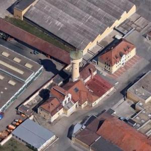 Bamberg water tower (Google Maps)
