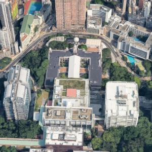 University of Hong Kong (Google Maps)