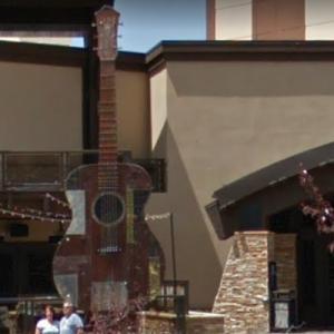 Hard Rock Casino Guitar (StreetView)