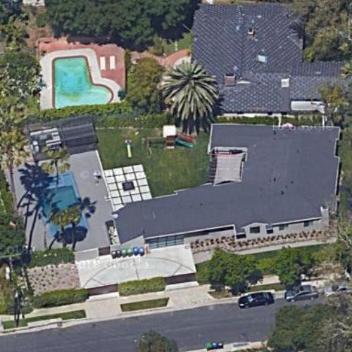 Jenni Pulos' House (Former) In Los Angeles, CA (Google Maps