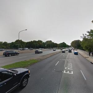 Roosevelt Blvd. over Tacony Creek Bridge (StreetView)