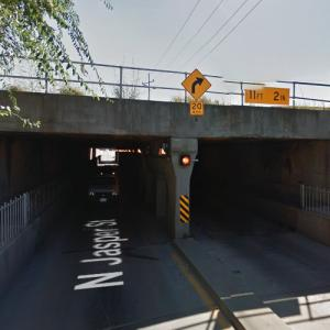 NS - Jasper Street Overpass (StreetView)