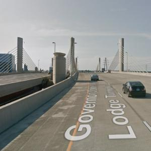 Pearl Harbor Memorial Bridge (StreetView)