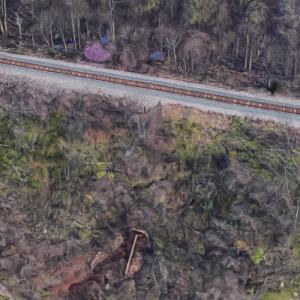 Burton Creek Norfolk Southern Railway Bridge (Google Maps)