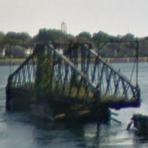 Niagara River Tonawanda Island Railroad Bridge (abandoned) (StreetView)