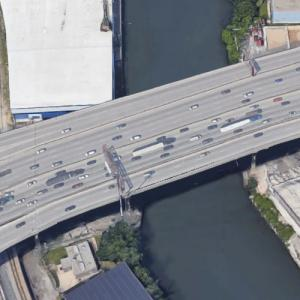 Dan Ryan Expy Chicago River Bridge (Google Maps)