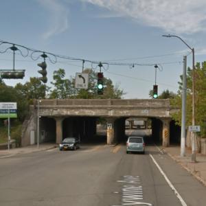 Brandywine Avenue Norfolk Southern Railway Bridge (StreetView)
