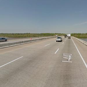 I-440 Bridge (StreetView)