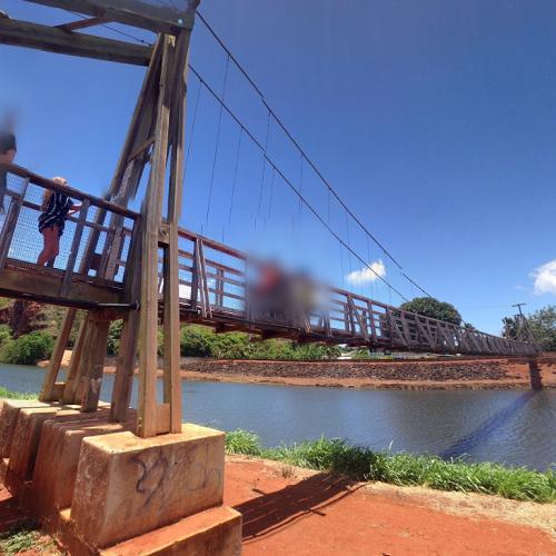 Hanapepe Swinging Bridge In Hanapepe Hi Google Maps