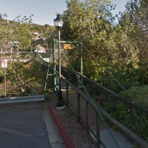 Arroyo Grande Swinging Bridge (StreetView)