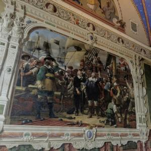 """The Battle of Colberger Heide"" by Wilhelm Marstrand at Roskilde Cathedral (StreetView)"