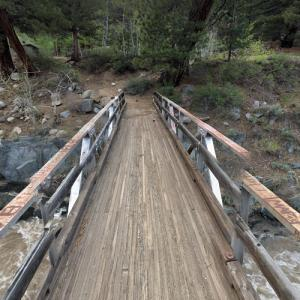 Leavitt Meadows Campground Trail Bridge (StreetView)