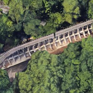 Erie Zoo Drift Catcher Bridge (Google Maps)
