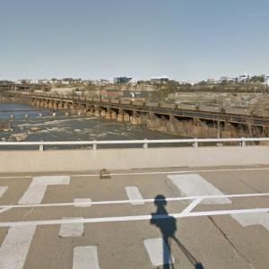 CSX - James River Viaduct (StreetView)