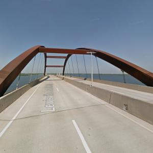 Lewisville Lake Bridge (StreetView)
