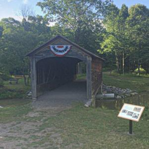 Hyde Hall Covered Bridge (StreetView)