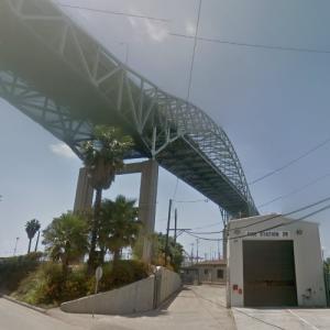 Gerald Desmond Bridge (StreetView)
