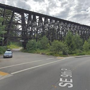 BNSF - Wilburton Trestle (StreetView)
