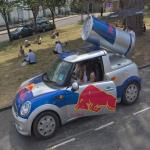 Red Bull Mini in Bristol