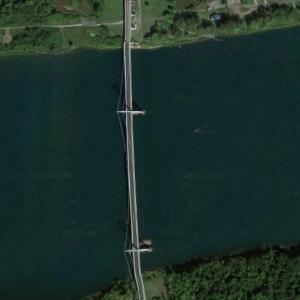 Akwesasne Bridge (Google Maps)
