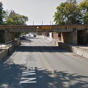 CSX - OH100 Overpass (StreetView)