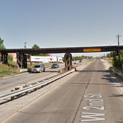 UP - IA415 Overpass in Des Moines, IA (Google Maps)