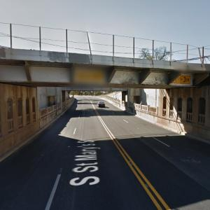 UP - St. Mary's Street Underpass (StreetView)