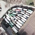 Boat-collection on land (Google Maps)