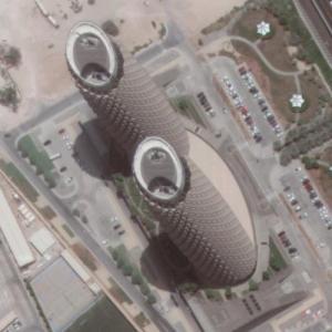 Al Bahr Towers (Google Maps)