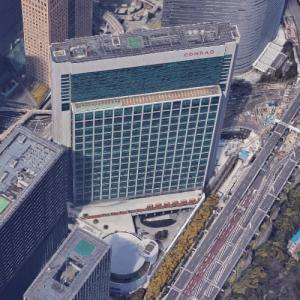 'Tokyo Shiodome Building' by Nikken Sekkei (Google Maps)