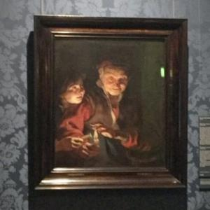 """Old Woman and Boy with Candles"" by Peter Paul Rubens (StreetView)"