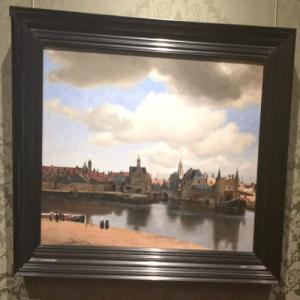 """View of Delft"" by Johannes Vermeer (StreetView)"