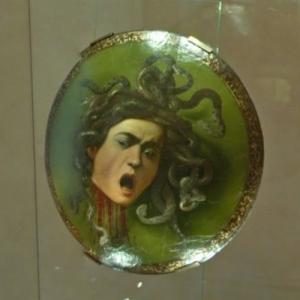 """""""Medusa"""" by Caravaggio (StreetView)"""