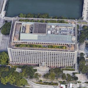 'Osaka City Hall' by Nikken Sekkei (Google Maps)
