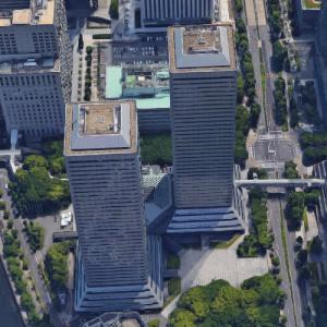 'Twin 21 Towers' by Nikken Sekkei (Google Maps)
