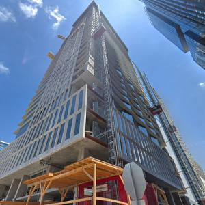 'Austin Proper Hotel & Residences' by Handel Architects under construction (StreetView)